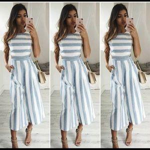 🦓 Striped JumpSuit 🦓